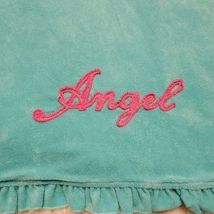 Victoria Secret Angels Rare Ruffle Robe Sz S/M